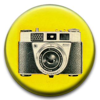 Retro Camera Badges
