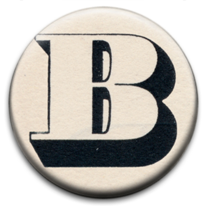 Letter B Badge bf5e596b3a