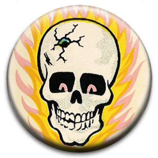 Skulls, Day of the Dead and Mexican Wrestler Badges